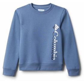 Columbia Columbia Park French Terry Crew Pullover Youth, bluestone